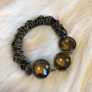 Simply Vera, Vera Wang 3 Stone Stretch Bracelet